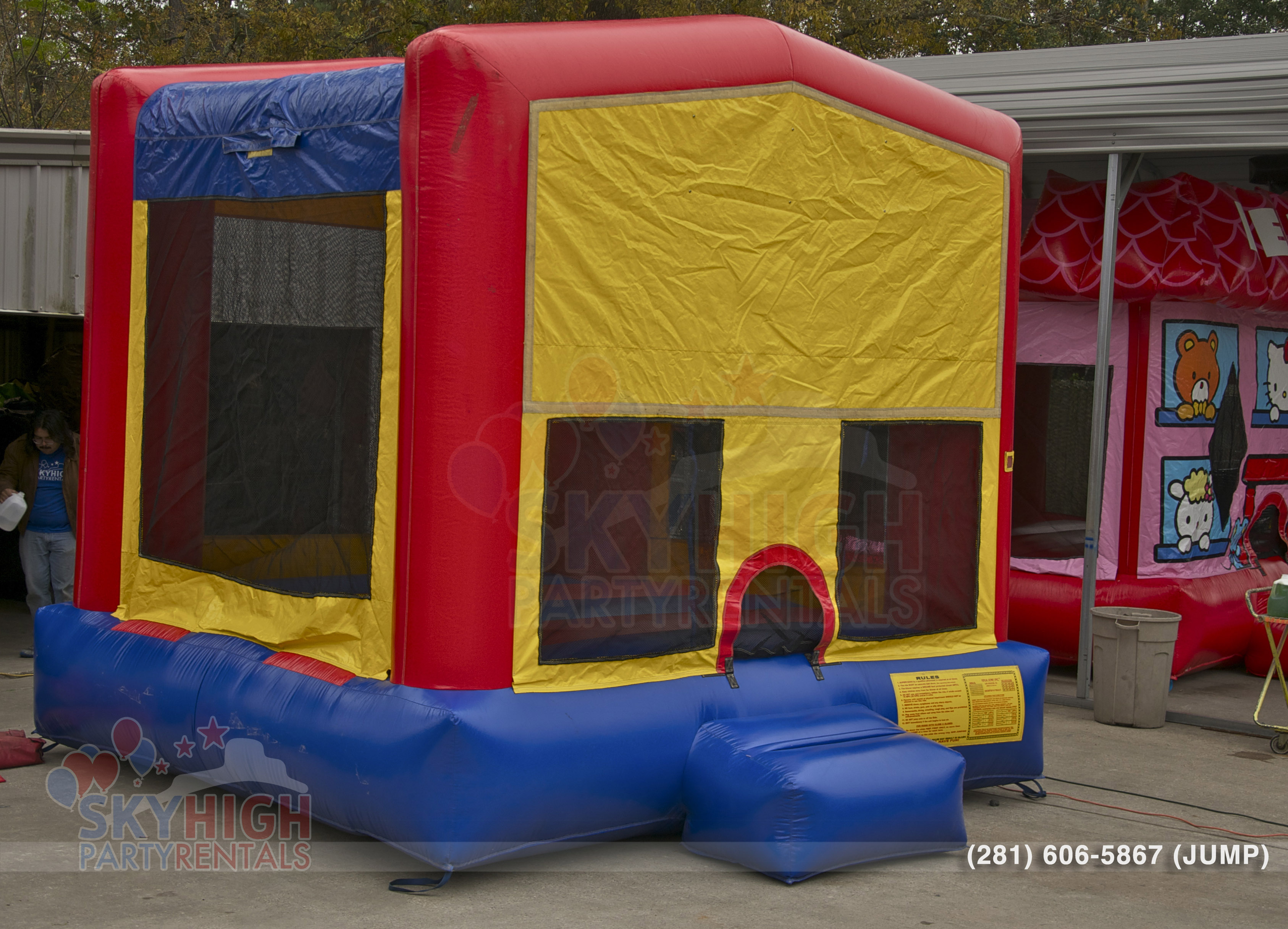 Side View Bounce House Mod