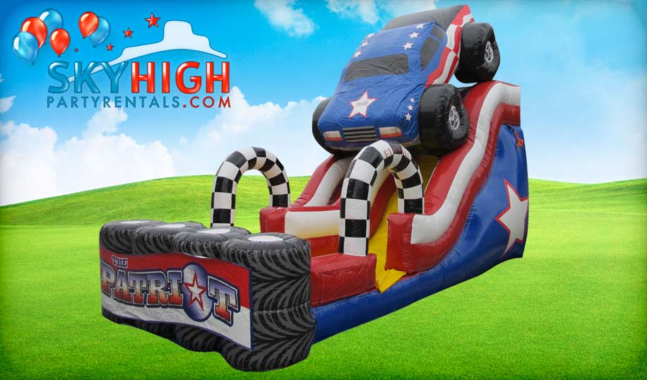 Monster Truck Wet Dry Slide