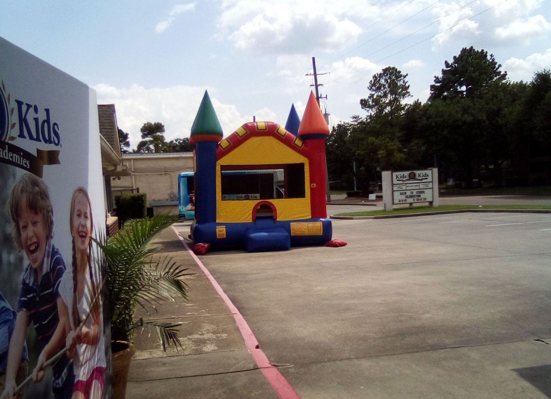 Bouncey Castles for Hire Houston