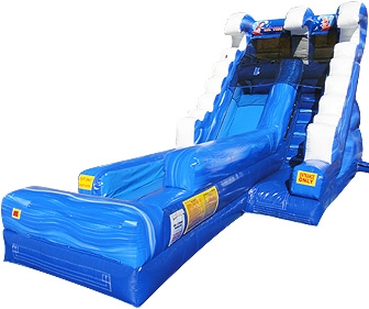 Little Surf Bounce House Water Slide