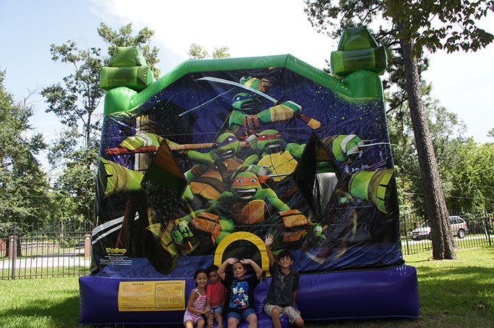 Kids Party Ninja Turtle Bouncer