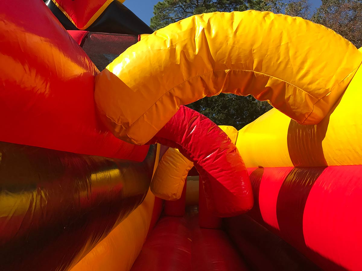 Inside Double Rush Inflatable