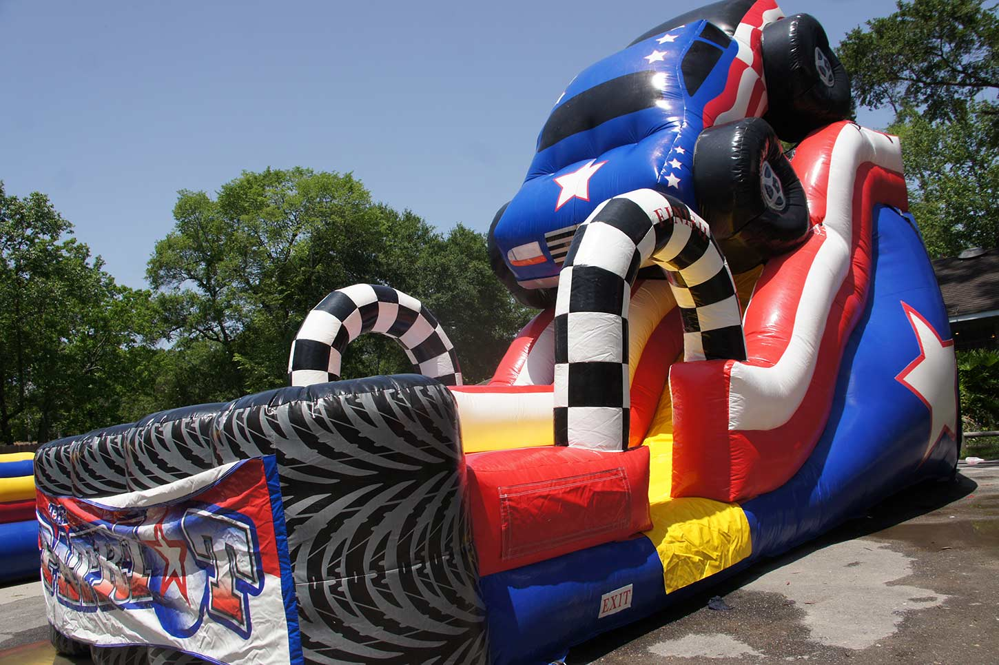 Monster Truck Waterslide Rental