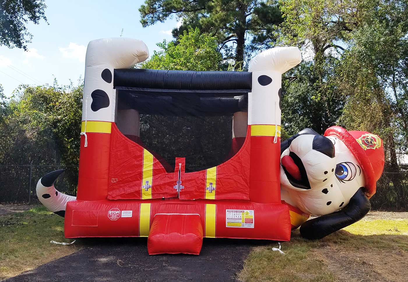 Dalmation bounce houses Houston