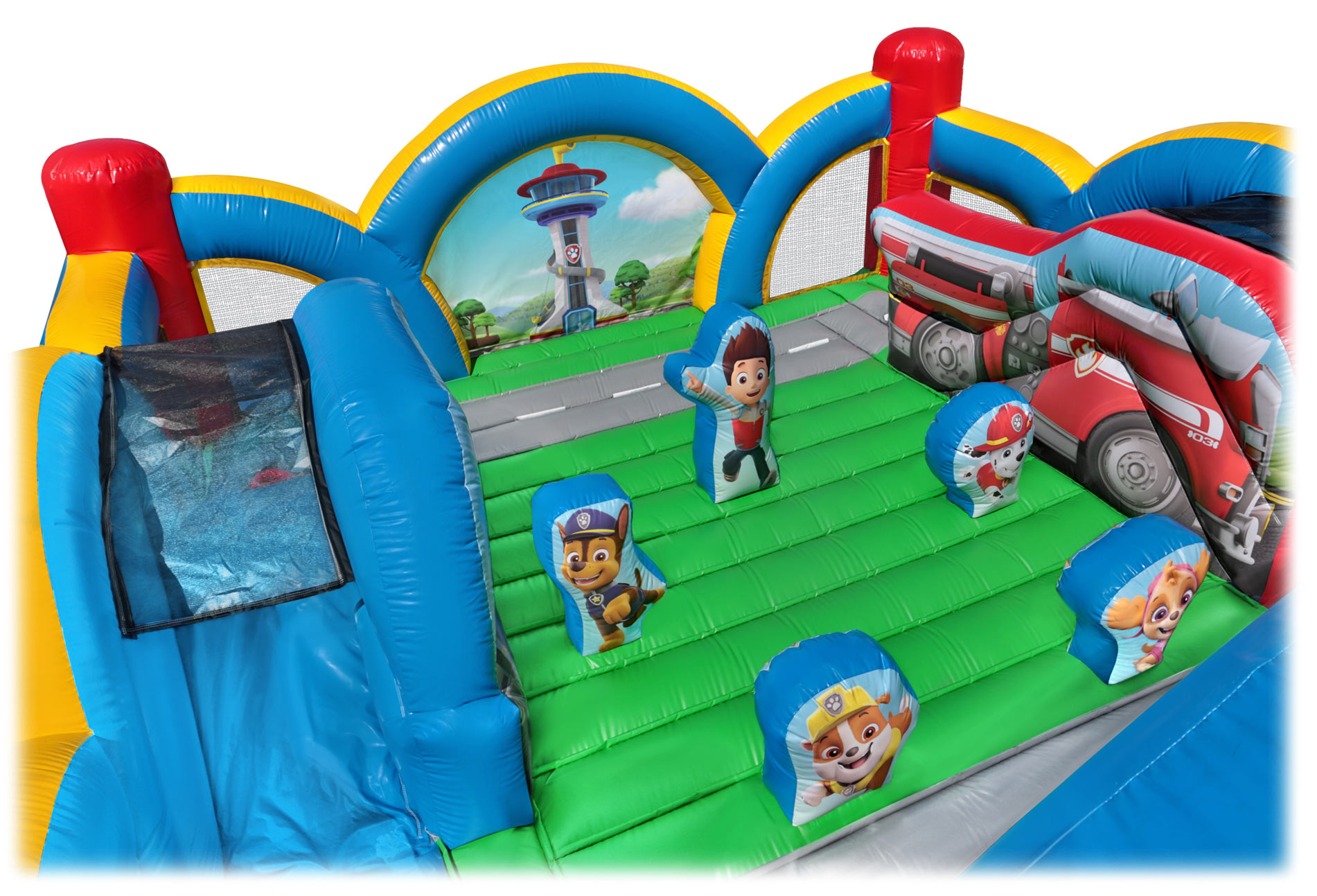 Top View Paw Patrol Kids Bounce House Rentals