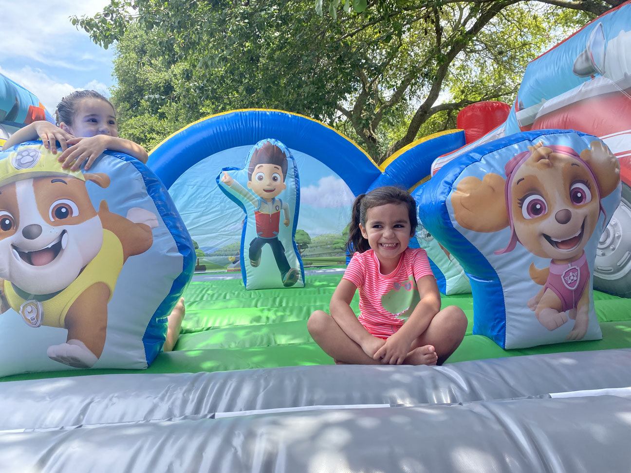 Bounce House Paw Patrol Themed Delivered