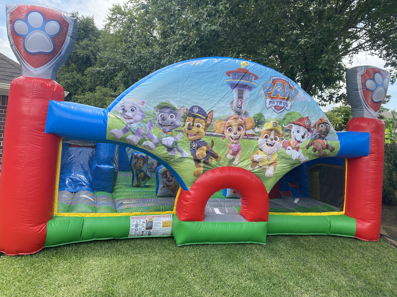 Paw Patrol bounce houses near me