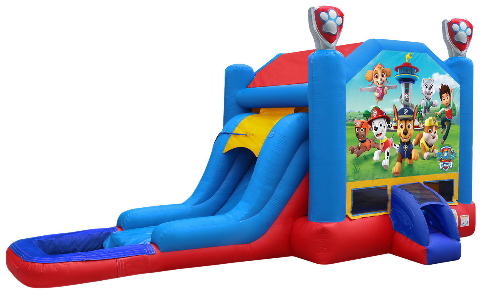 Paw Patrol Moonwalk Wet or Dry Combo