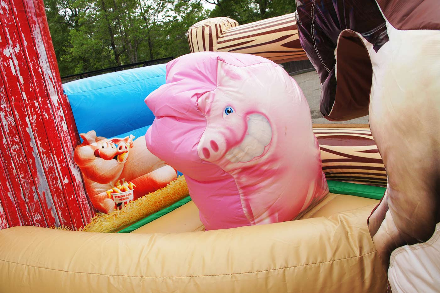toddler pig bouncer