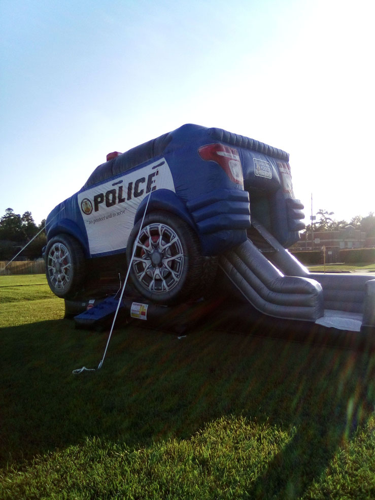 Police-Cruiser-Jump-House-Kids-PartySan-Marcos-TX