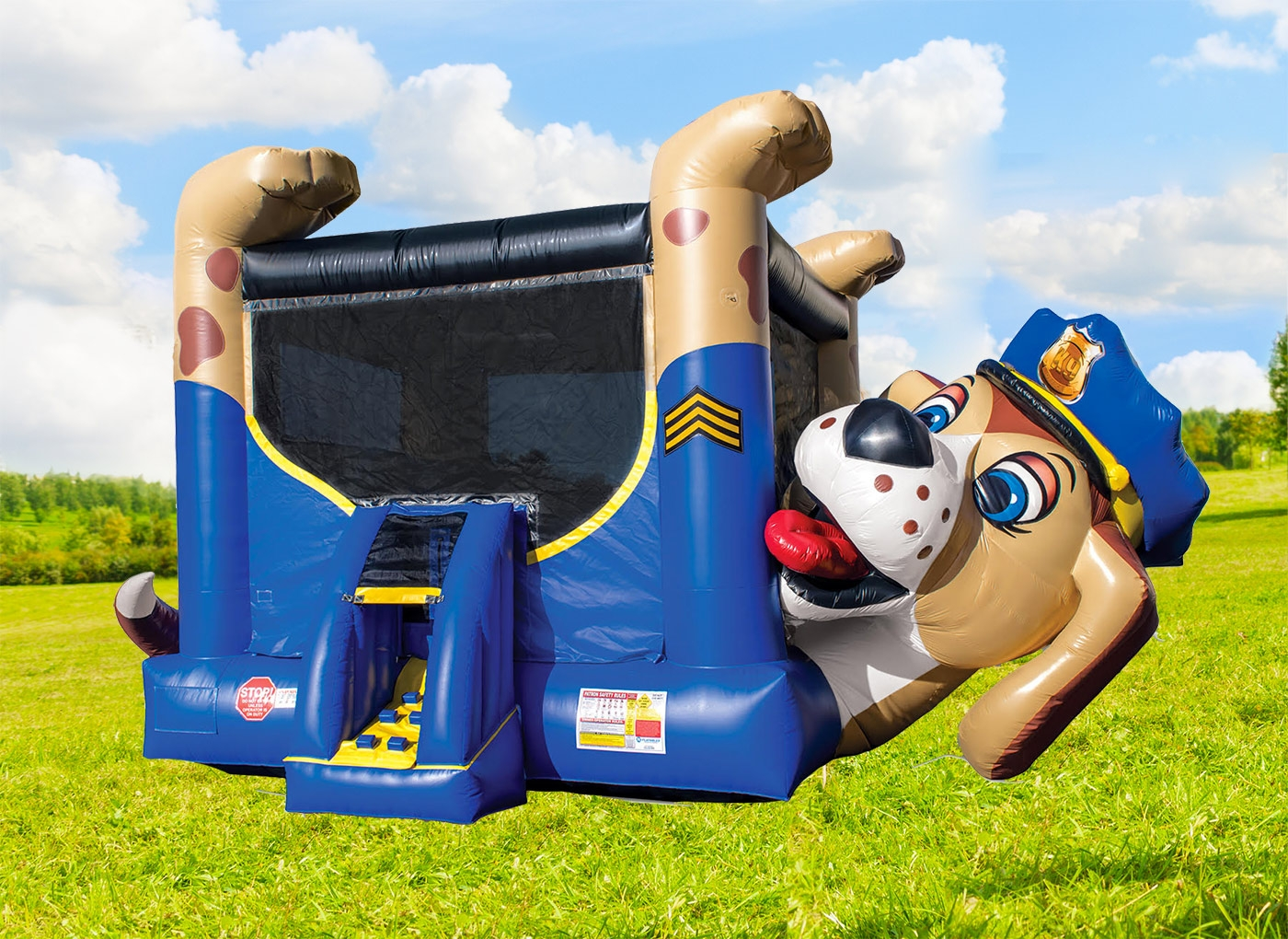 Police Dog Bounce House