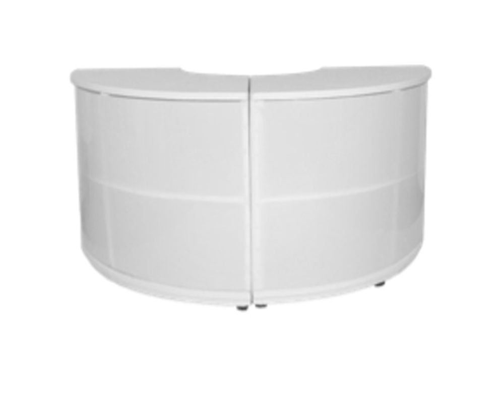 6ft - 1/2 Circle illuminated bar