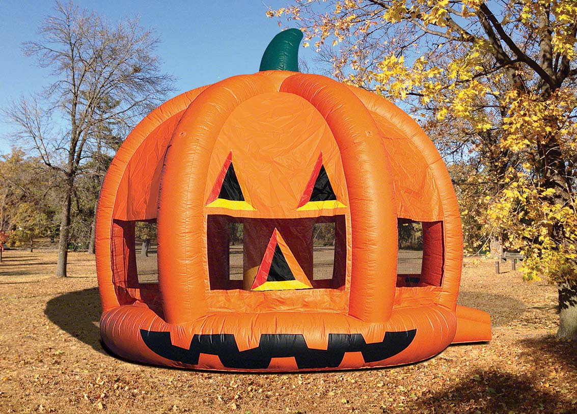 Pumpkin Bounce House Rental