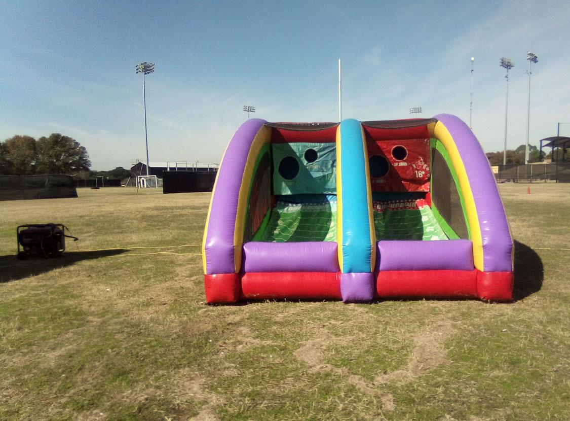 Austin QB Blitz inflatable football game
