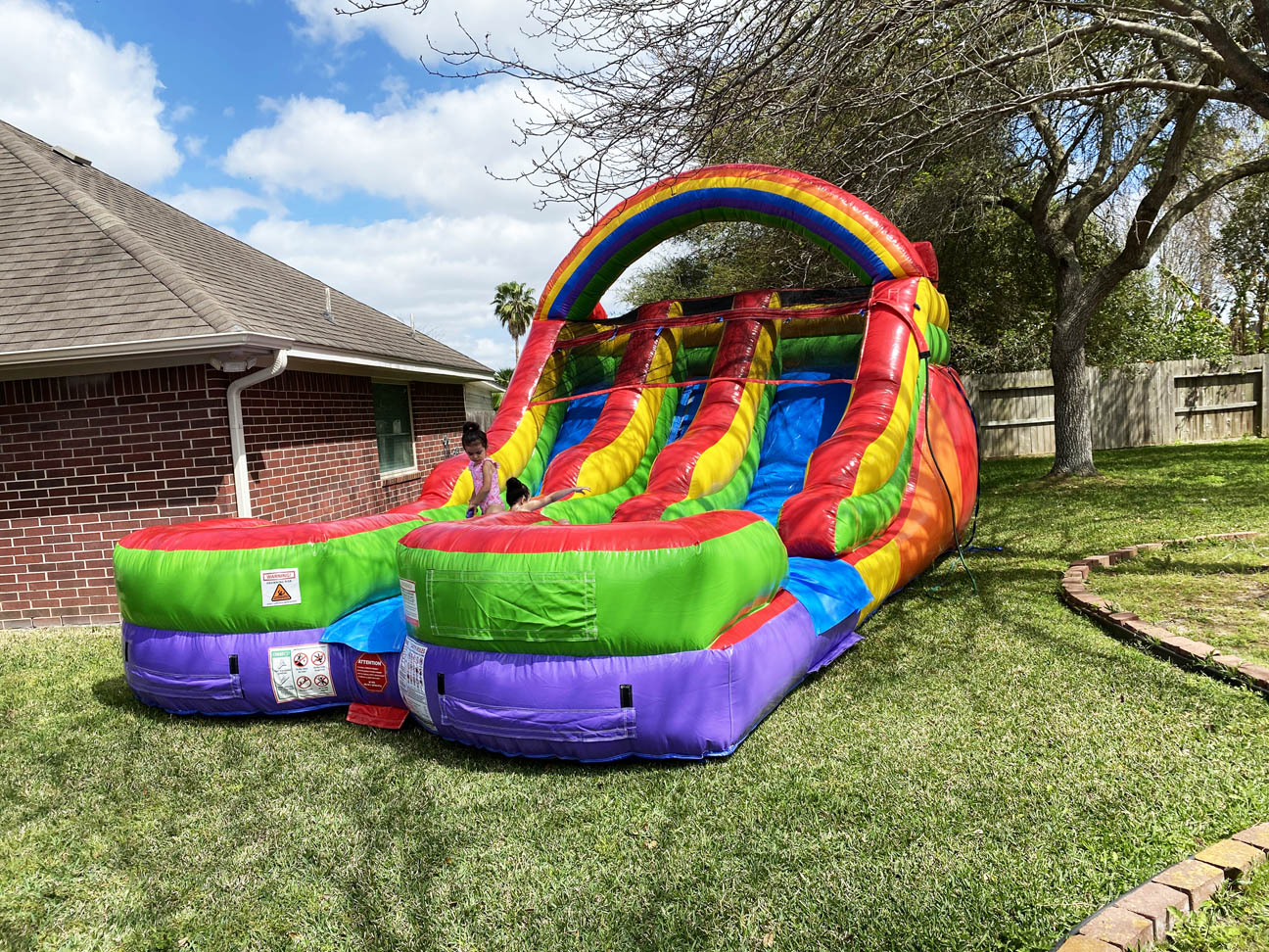 Rainbow Water Slides for Rent