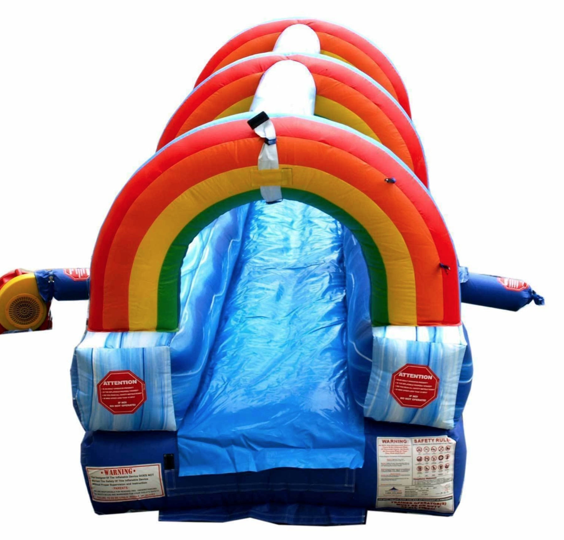 Water Slide Rainbow Slip N Slide Rentals Houston