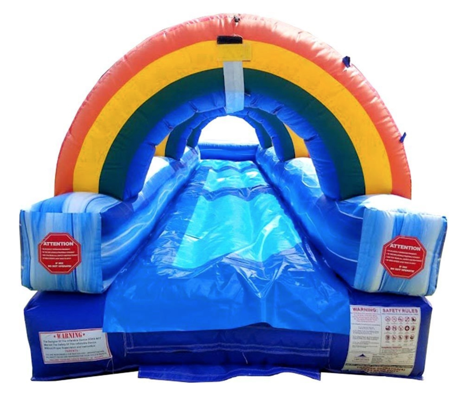 Rainbow Slip N Slide Rentals For Hire