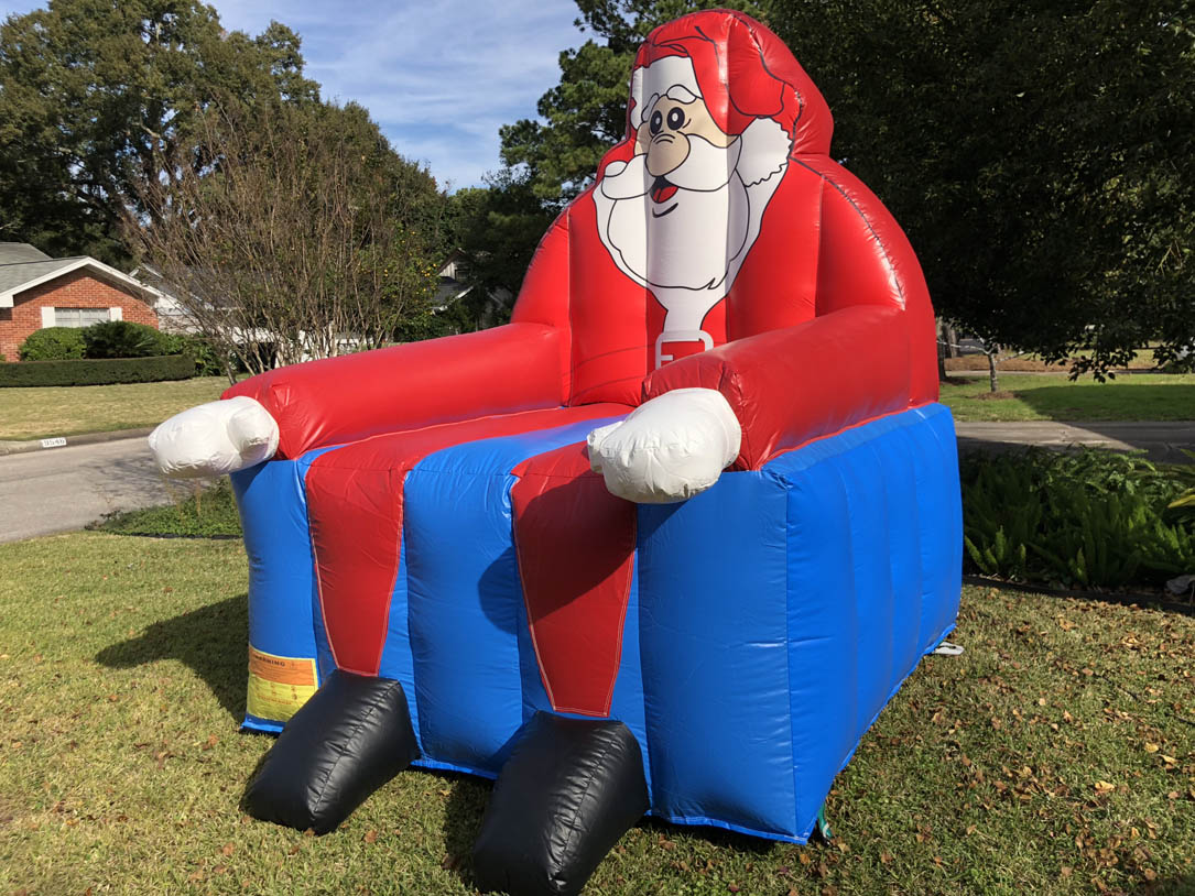 Inflatable Santa Chair