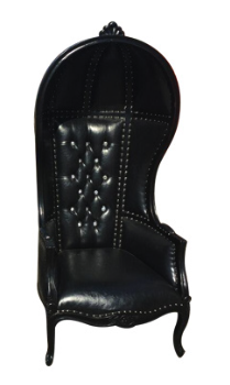 King Black Chair Rentals
