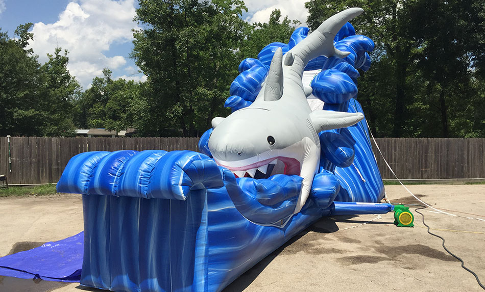 Giant Shark Water Slide