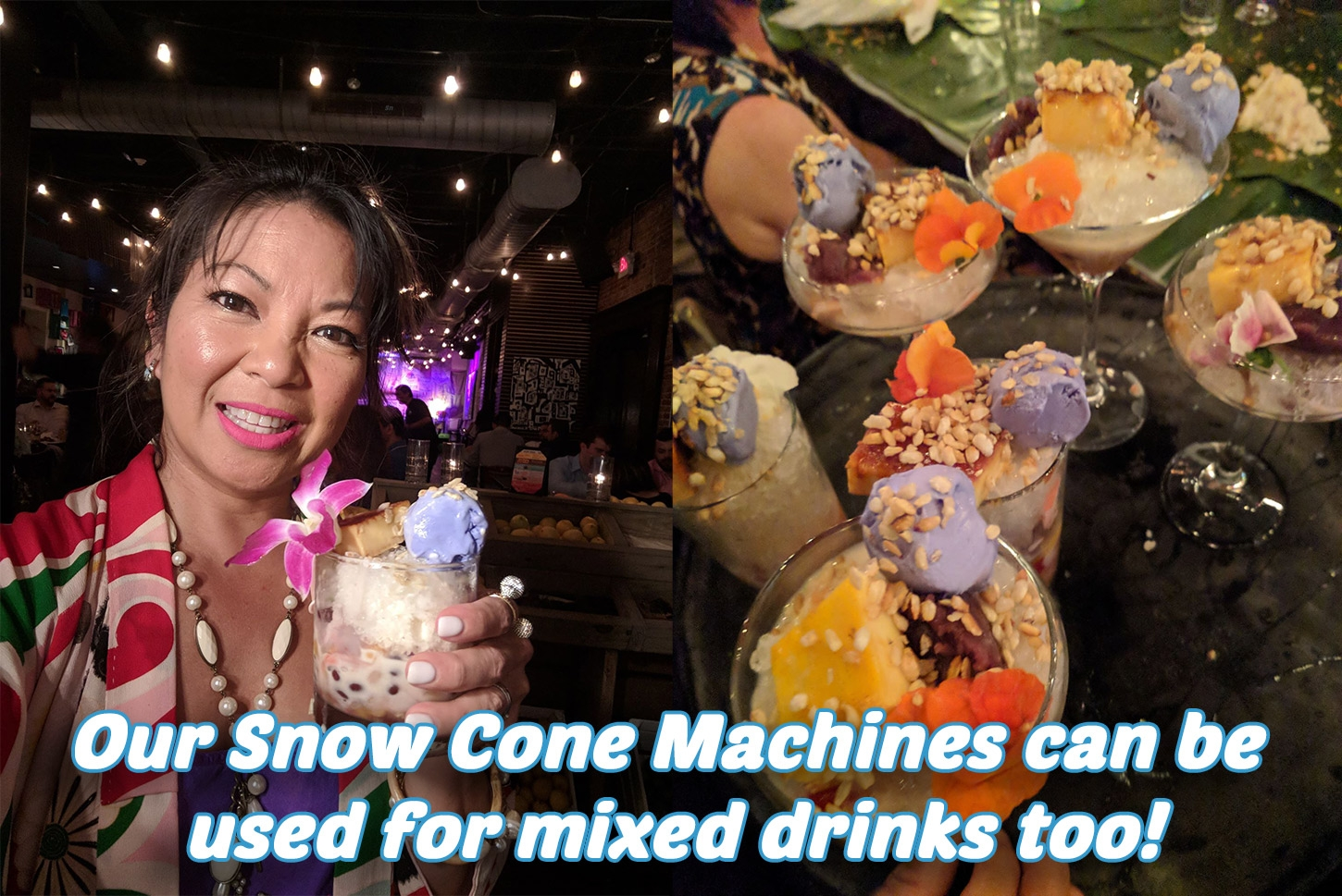 Snow Cone Drink Ideas Houston