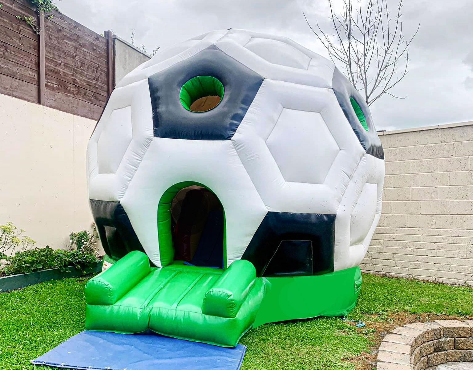 Soccer Bouncy Castle for Hire