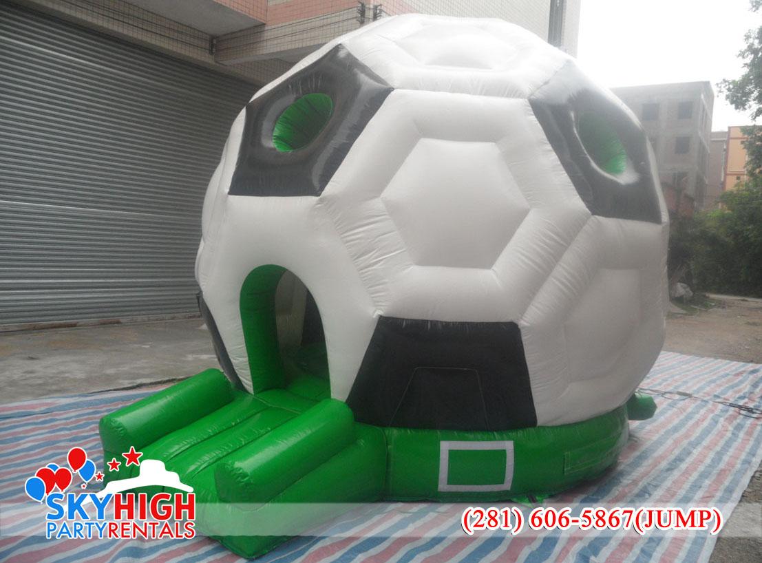 soccer inflatable rental