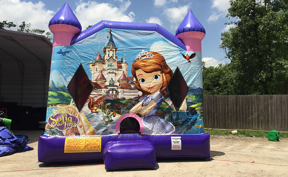 sofia the first jumphouse