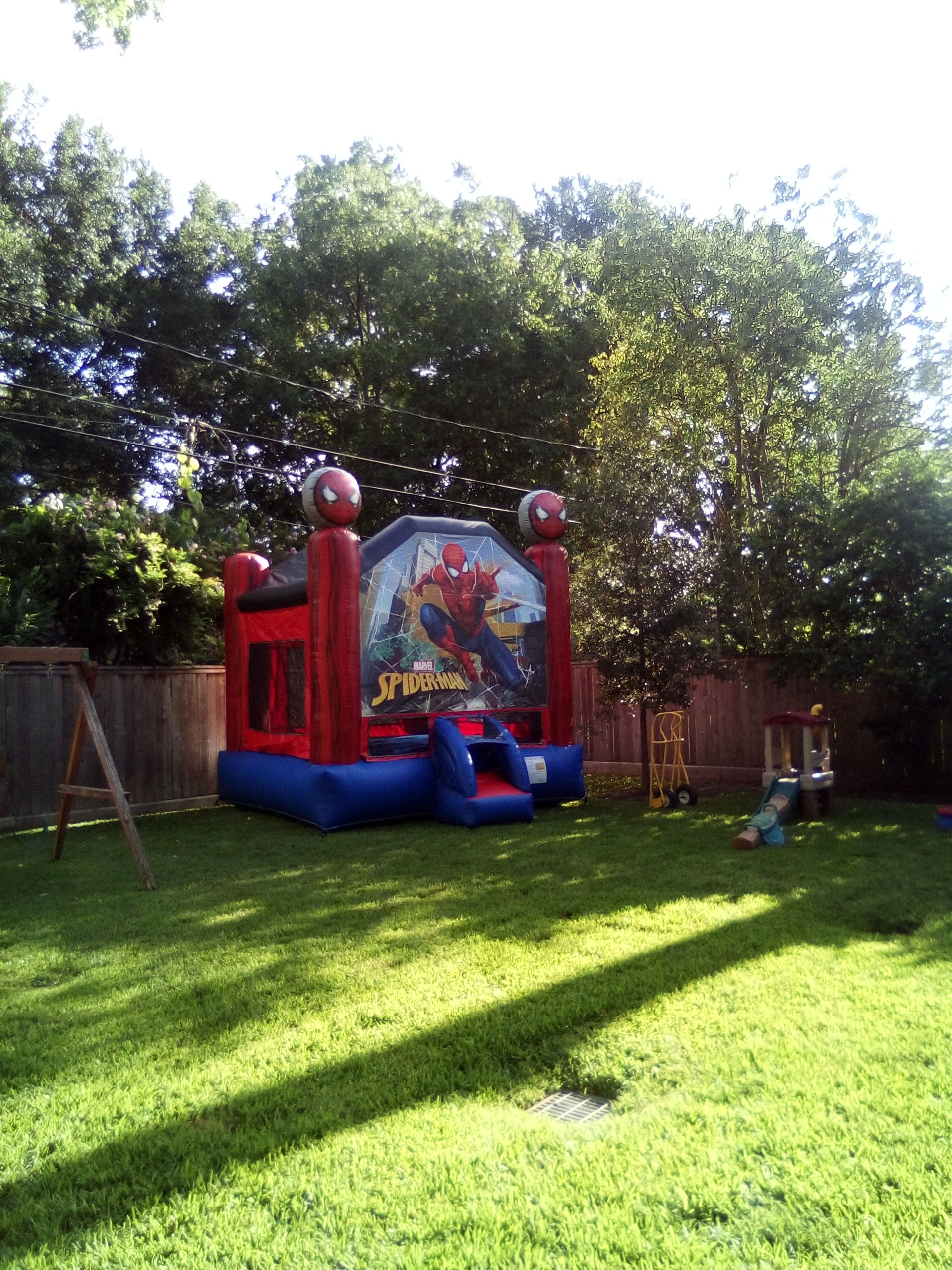 Spider-Man Backyard Inflatables