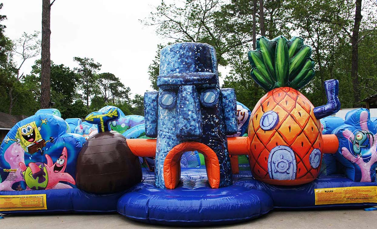 Spongebob Toddler Obstacle Houston Tx Sky High Party