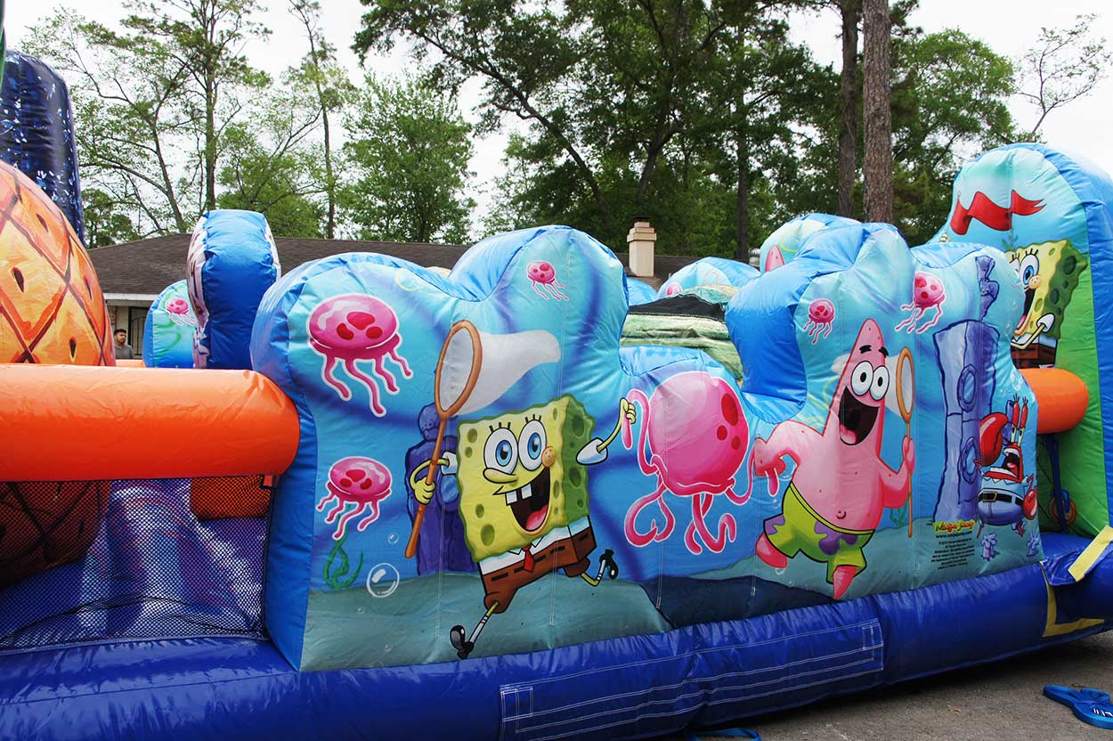 Spongebob Toddler Jump House