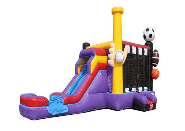 Sports Moonwalk Bounce House Rental