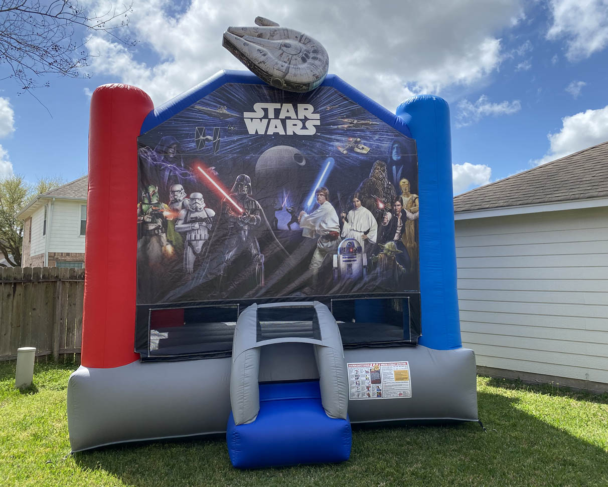 Star Wars Inflatable Bounce Hous