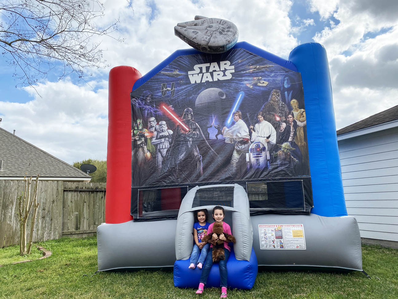 Texas Star Wars Bounce House Rentals