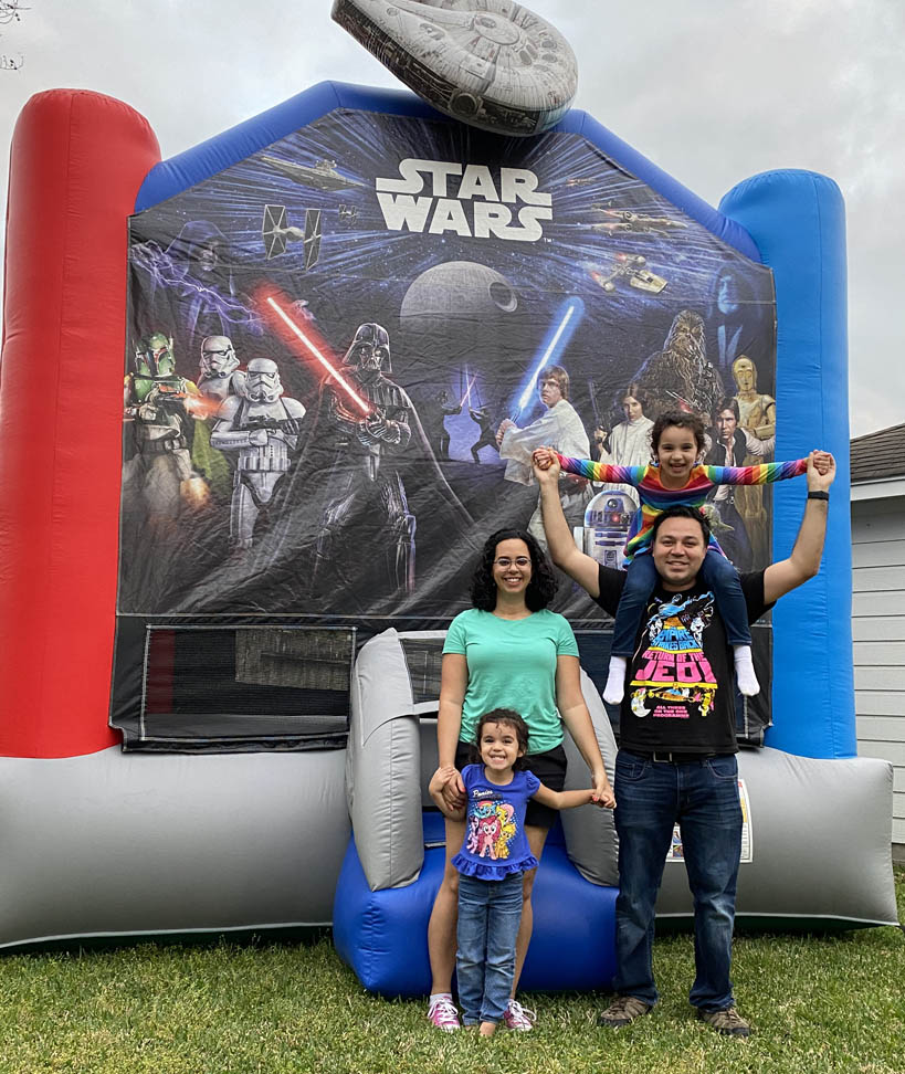 Texas Star Wars Jump Houses