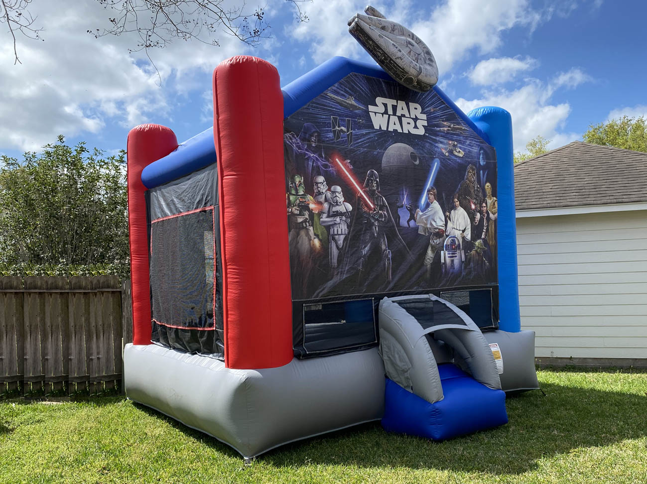 Dallas, TX Star wars Jumphouse Moonwalks