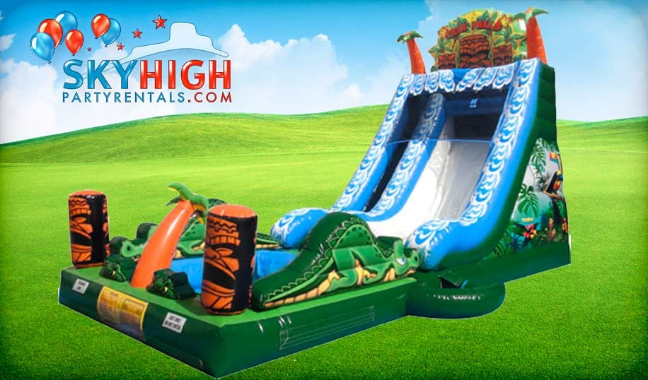 Summer Fun Water Slides