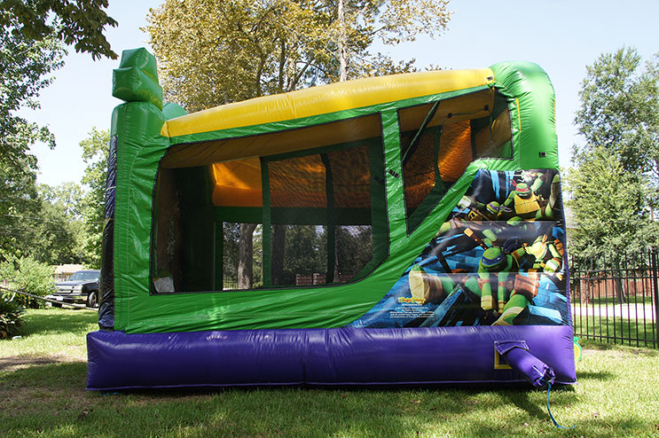 Side of TMNT with Slide