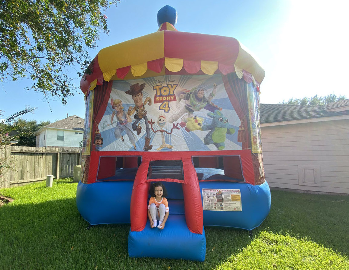 Kids Toy Story 4 Bounce House Rentals