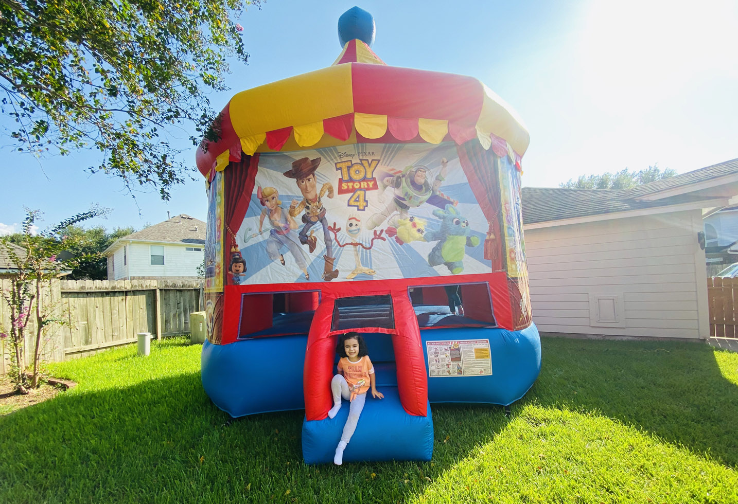 Jump House Toy Story 4 Bounce House Rentals