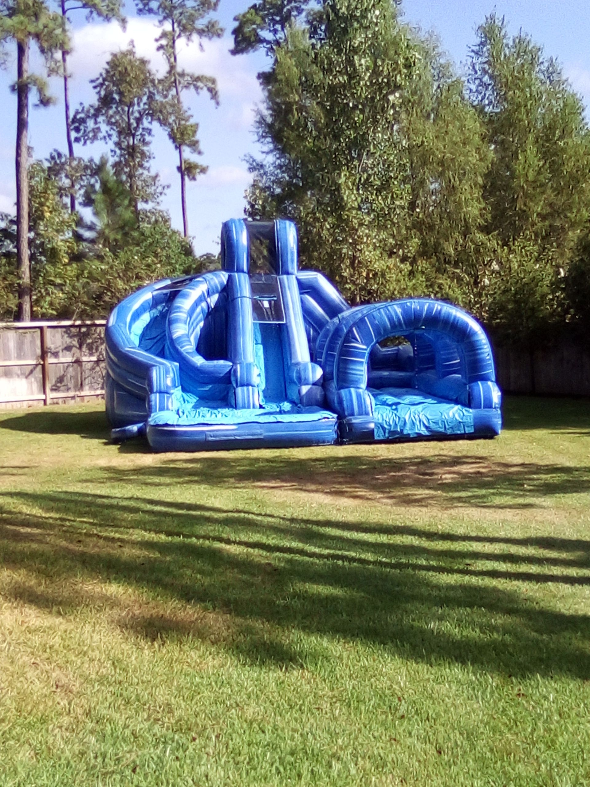 Triple Water Slides for Rent