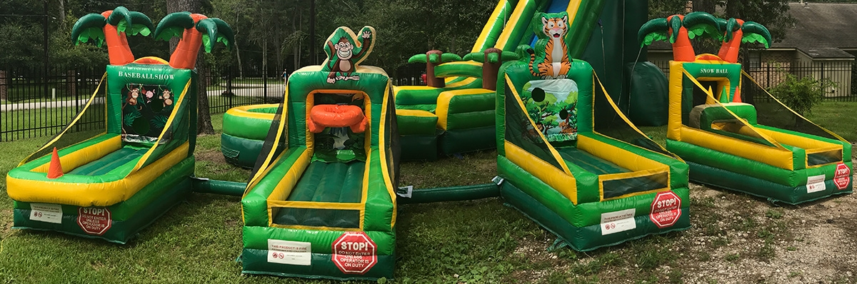 Tropical Party Game Rentals Houston