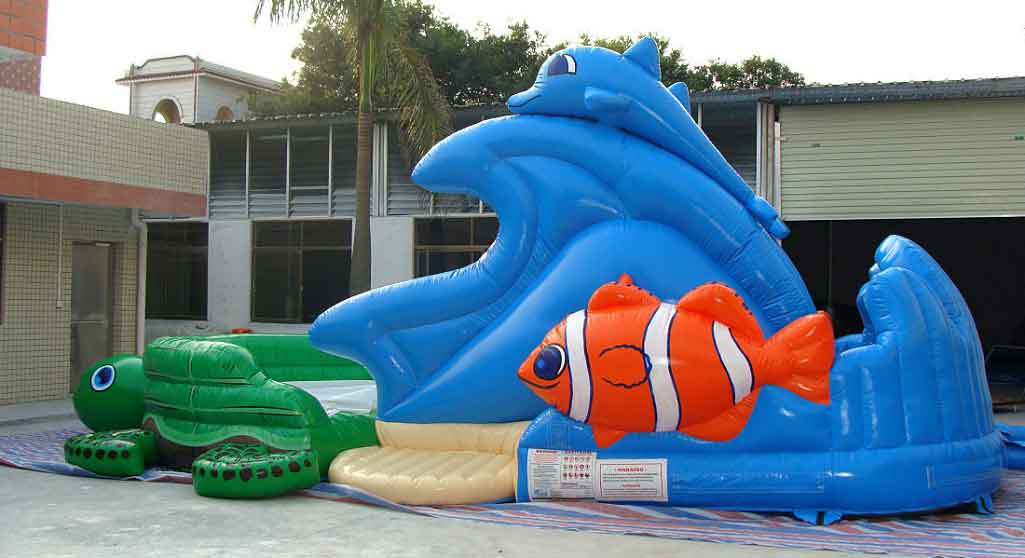 Right Side Turtle Beach Water Slide