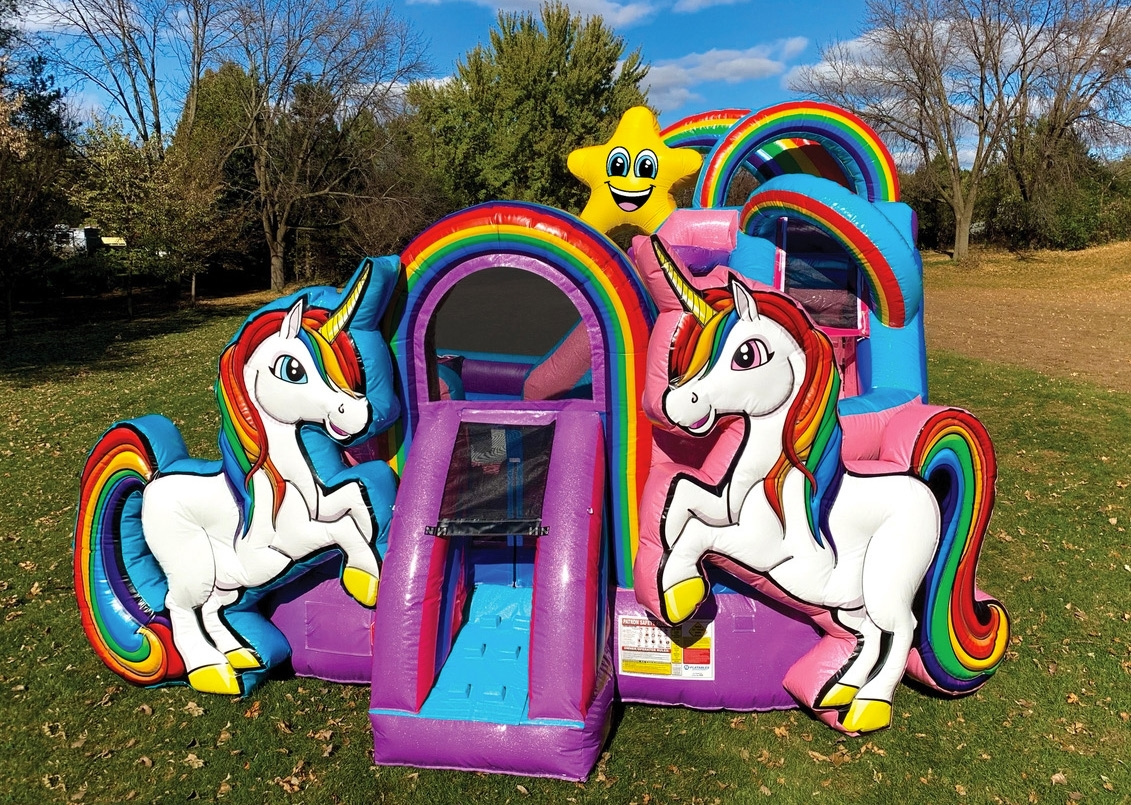 Unicorn Houston Kids Inflatables