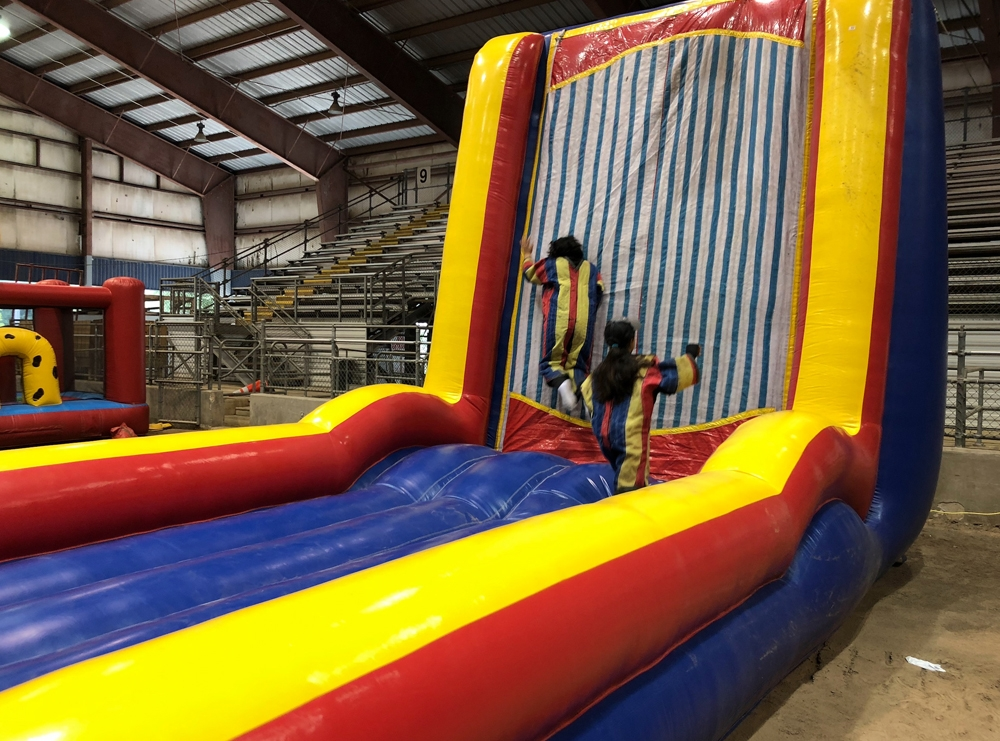 Humble Civic Center Velcro Wall Rental