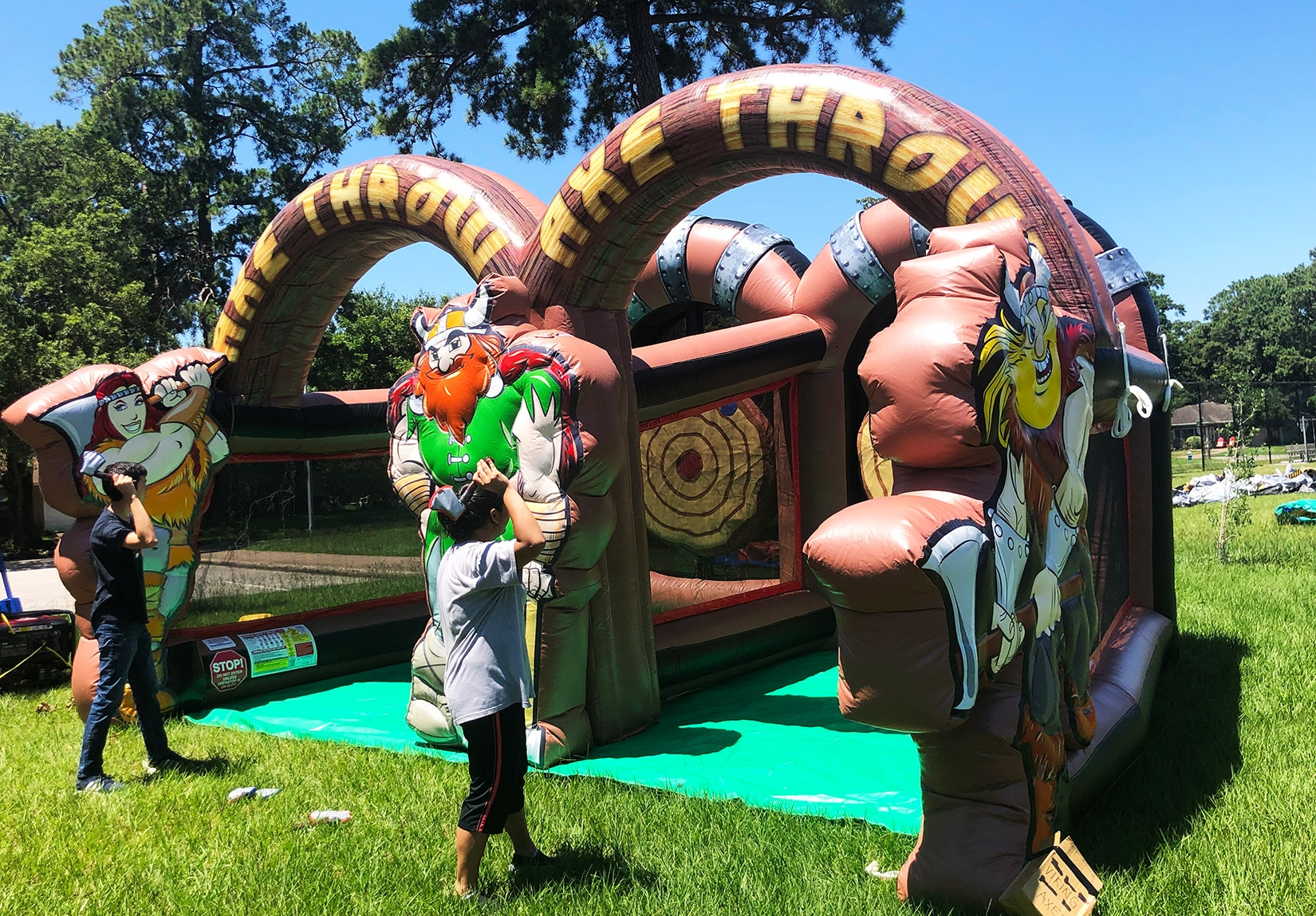 Houston Viking Axe Event Team Building Rentals