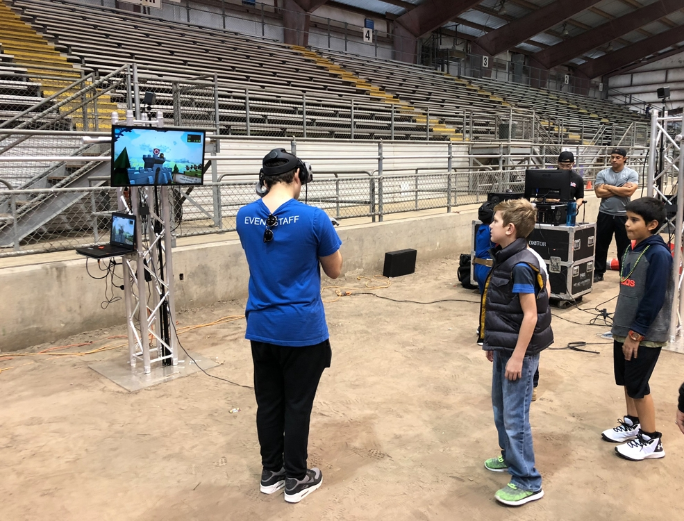 VR Event Rentals Humble Civic Center