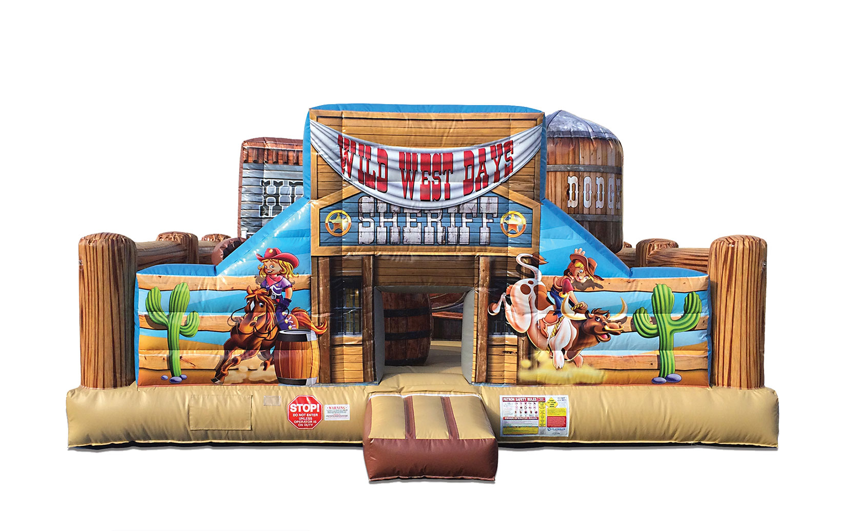 Rodeo Cowboy Bounce House Rentals