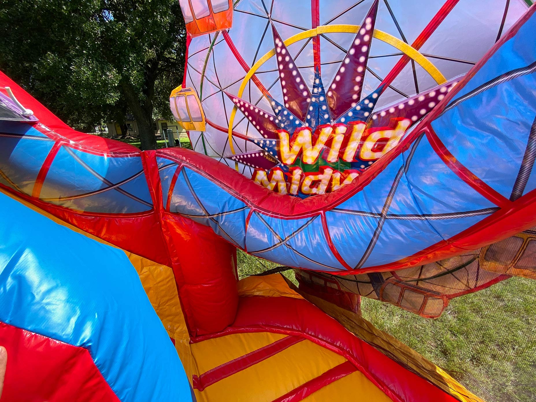 Ferris Wheel Inflatable Games