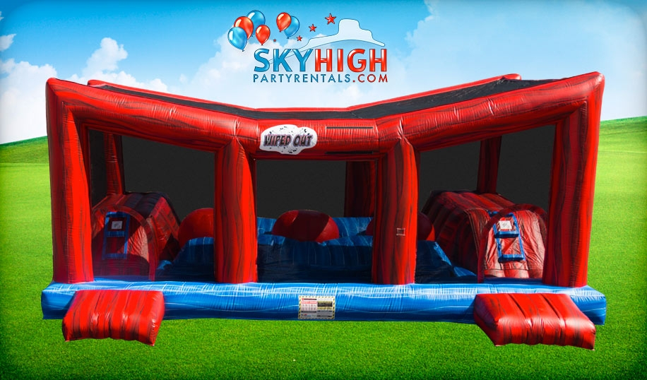Wipe Out Interactive Obstacle